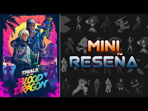 Mini Reseña Trials of the Blood Dragon | 3 Gordos Bastardos