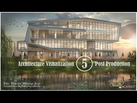 Photoshop Post Production architecture (05)