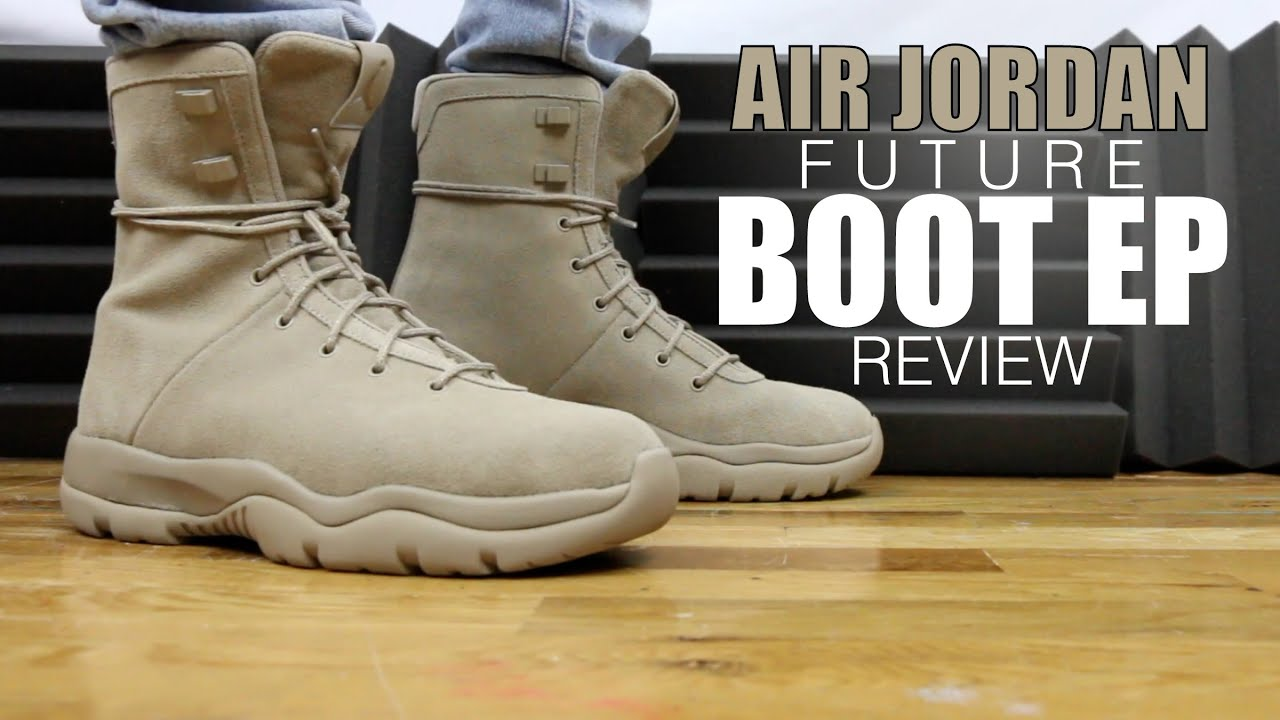 50018eb7f8f5 AIR JORDAN FUTURE BOOT EP REVIEW - YouTube