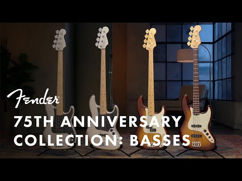 The Fender 75th Anniversary Collection: Basses | Fender