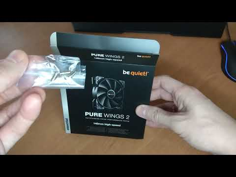 Кулер be quiet! Pure Wings 2 140 mm PWM high-speed (BL083)