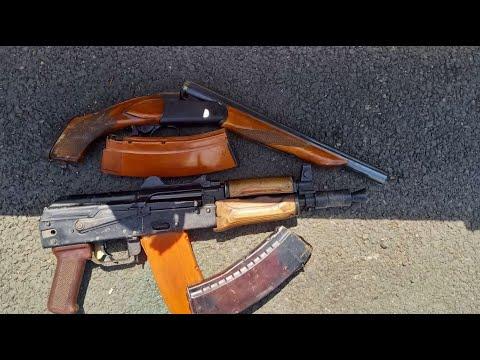 Տեսանյութ.«Կալաշնիկովի» ինքնաձիգով ու որսորդական հրացանով կրակոցներ են արձակվել Երևանում