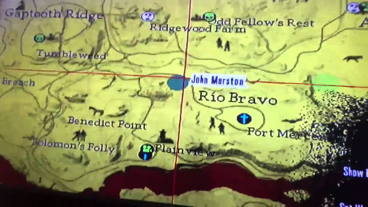 Red Dead Redemption Undead Nightmare Wars Location Youtube