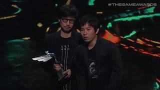 Death Stranding Wins the Best Game Direction Award | The Game Awards 2019