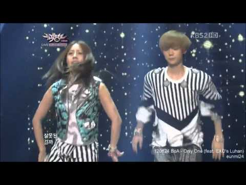 120824 EXO Luhan dance cut with BoA - Only One