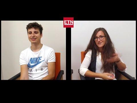 Martin and Teodora at ETN | Double interview - ETN Magazine