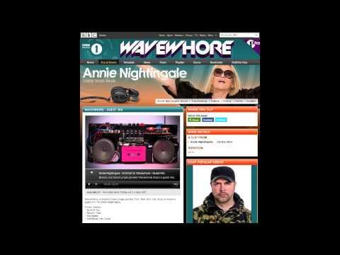 Wavewhore Returns to BBC Radio 1 - The Annie Nightingale Show