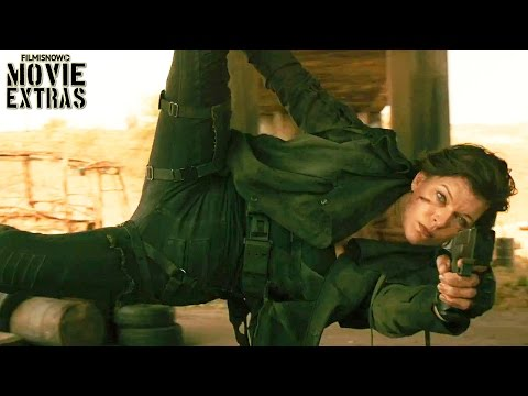 Resident Evil: The Final Chapter release clip compilation (2017)