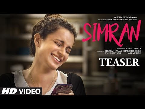 Thumbnail: Offical Movie Teaser - Simran | Kangana Ranaut | Hansal Mehta | T-Series