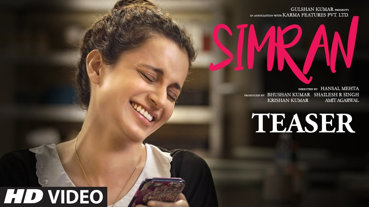 SIMRAN movie teaser