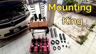 Cara DIY Aksesori & Absorber Depan Belakang Mounting King