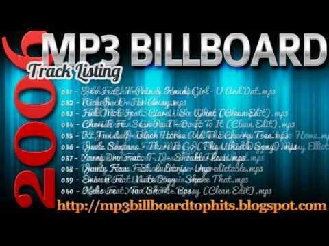 mp3 BILLBOARD 2006 TOP Hits mp3 BILLBOARD 2006