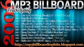 mp3 BILLBOARD 2006 TOP Hits mp3 BILLBOARD 2006