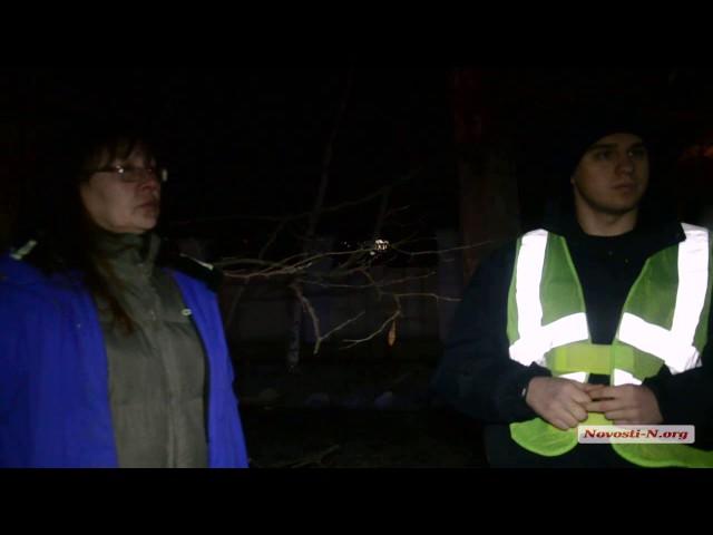 """Видео """"Новости-N"""": Общение с полицией по факту спила деревьев"""
