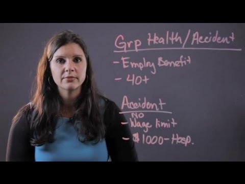 What Is Group Health & Accident Insurance? : Personal & Health Insurance Tips
