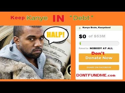 "KANYE WEST Isn't In ""Debt"" and Deserves Nothing"
