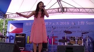 Philippine Expo 2018 in Tokyo 7/12 BEVERLY(ビバリー)J-POP