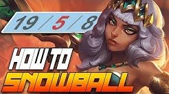 How to HARD SNOWBALL as QIYANA JUNGLE- HOW TO DOMINATE EP. 64