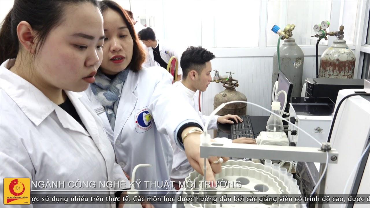 Ngành Công nghệ Kỹ thuật Môi trường | Đại học Công nghiệp Hà Nội
