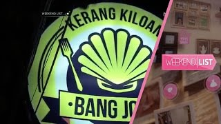 Kerang Kiloan Bang Jono - Weekend List