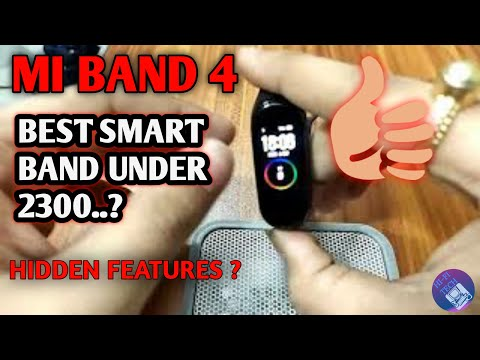 MI SMART BAND 4 UNBOXING|BEST BANDXiaomi Mi Band 4 Unboxing and First Look-Best Budget Fitness Band🔥