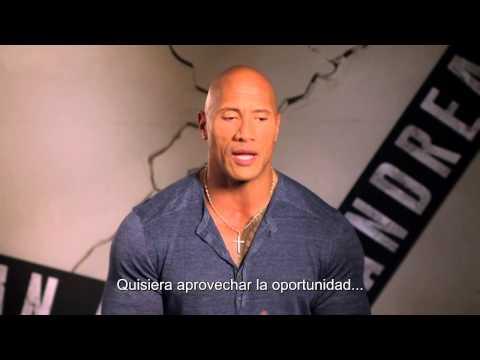 """Saludo de Dwayne Johnson """"La ROCA"""" a rescatistas de CINAT Colombia _ PELICULA TERREMOTO"""