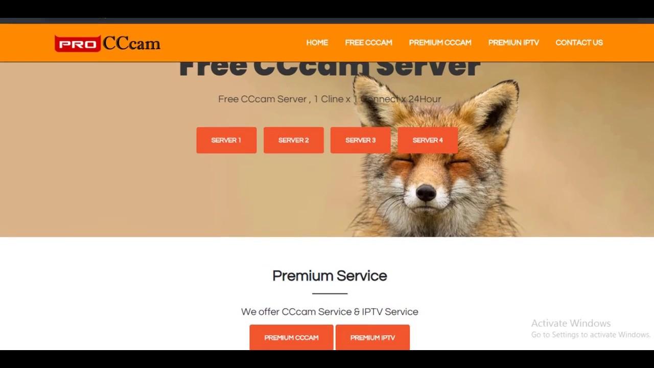 How to make cccam server on windows 7