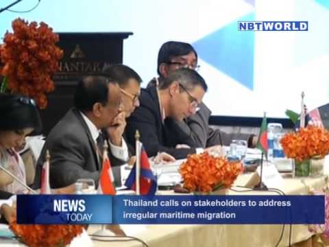 Thailand Calls on Stakeholders to Address Irregular Maritime