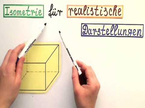 Isometrie zeichnen so wird es gemacht