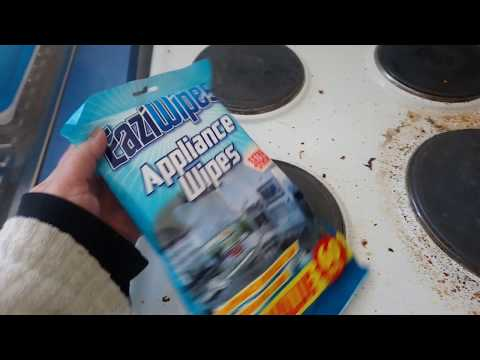 How to clean electric stove stains easily