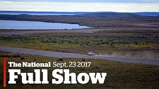 The National for Monday October 23, 2017