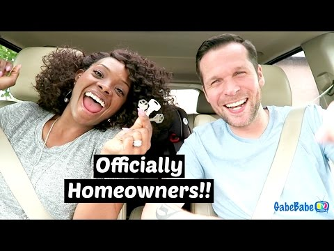 OFFICIALLY HOMEOWNERS!!