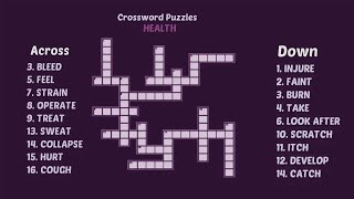 Crossword Puzzle Game In English Puzzles With Answers Youtube