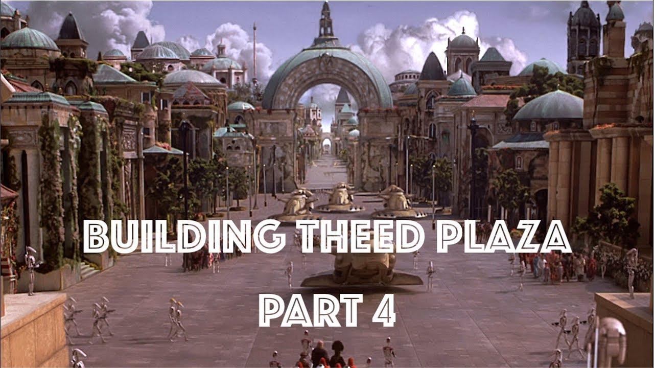 MOC] LEGO Star Wars - Naboo - Theed Plaza: Part 4 - YouTube