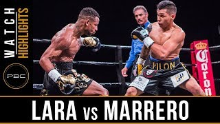 Lara vs Marrero HIGHLIGHTS: April 28, 2018 - PBC on FOX