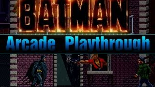 Game | Batman Arcade Full Playthrough Longplay Lets Play | Batman Arcade Full Playthrough Longplay Lets Play