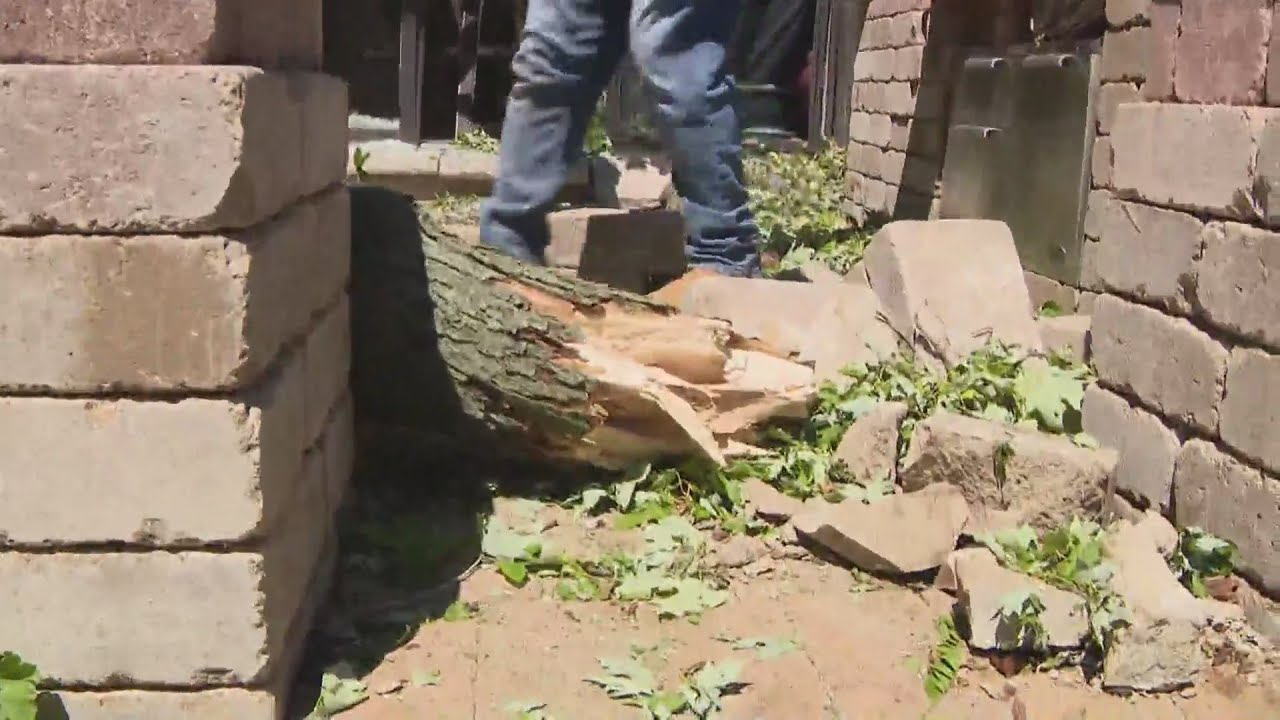 Chicago Area Cleaning Up After Tornadoes, Severe Weather
