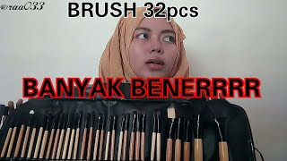 Review Brush Make Up 32pcs
