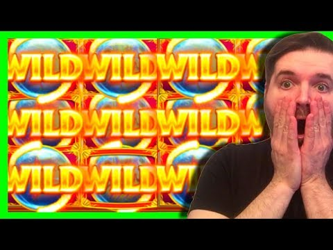 MASSIVE WIN!! HOLY CRAP! Ocean Magic Slot Machine Bonuses and Line Hits