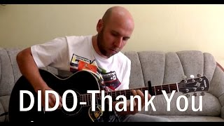 Dido - Thank You Fingerstyle Guitar Cover
