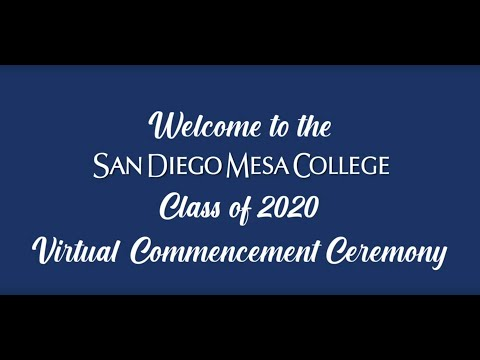 2020 San Diego Mesa College Commencement Ceremony