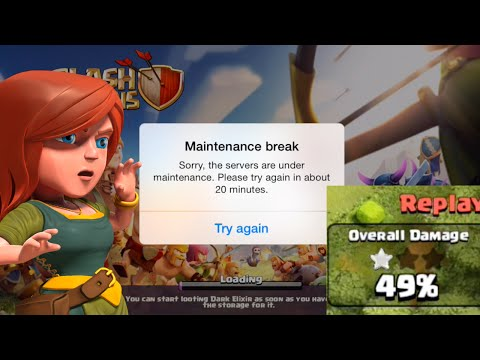 49% win/maintenance break? TROLL| NEW ATTACK STRATEGY clash of clans