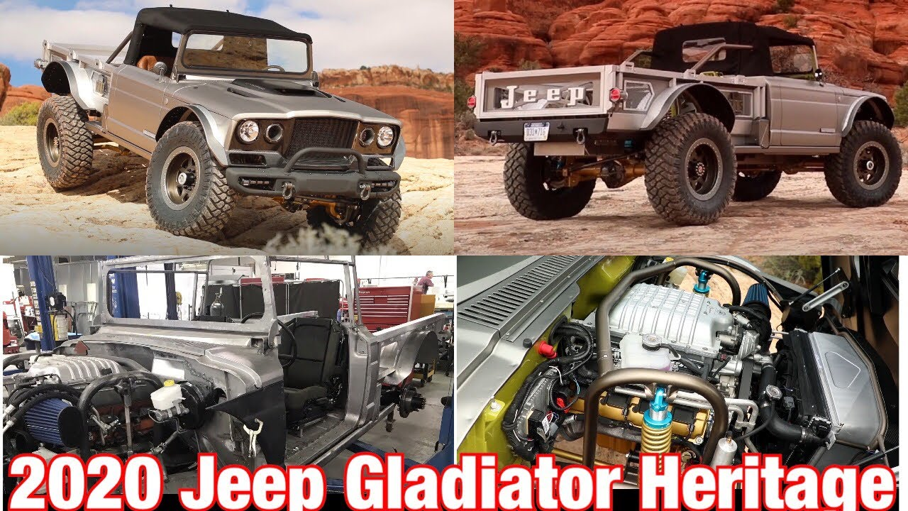 Mopar Today 2019 Easter Jeep Safari Featuring The 2020 Jeep Gladiator Heritage M 715 Concept