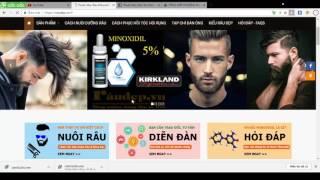 Thuốc Mọc Râu Minoxidil 5% - SHOP RÂU ĐẸP - Tư Vấn Mọc Râu 0988.028.148 (Zalo/Viber)