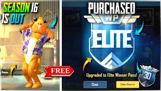 Pubg Mobile Lite Season 16 Is Out | How To Get Free Elite Winner Pass In Pubg Mobile Lite Season 16
