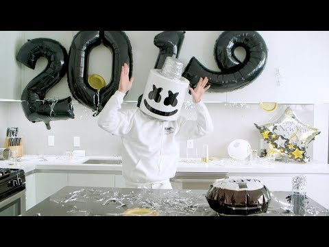 Cooking New Year&39;s Day 2019 Breakfast  Cooking with Marshmello