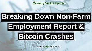Breaking Down Non-Farm Employment Report & Bitcoin Crashes - Is It Time to Buy?