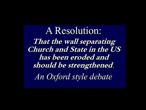 Separation Of Church and State:  Does It Actually Exist?