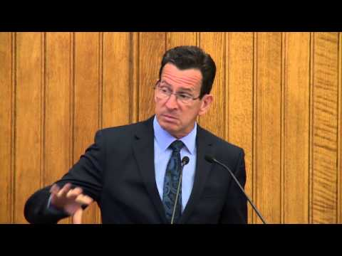 Connecticut Dialogue on Public Libraries: Keynote by Connecticut Governor Dannel Malloy