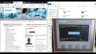 Siemens KTP400 HMI Stuck on Bootloader Screen Fix